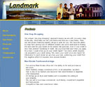 Landmark Mortgage and Realty Website